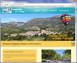 Camping Municipal La Motte Chalancon